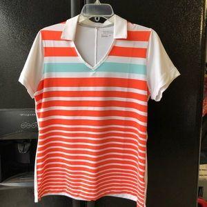Nike Golf v-neck polo